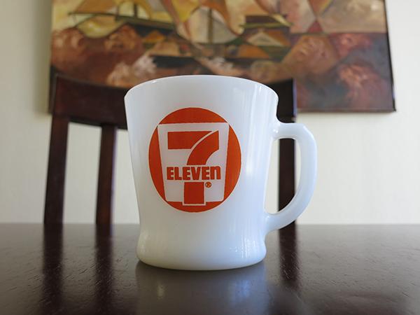Seven Eleven Fire King Mug 7 11